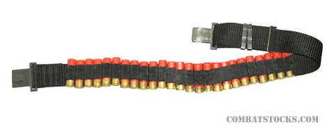 Shotgun Shellholder Belt - holds 35 rounds - fits 45 to 56 in. waist