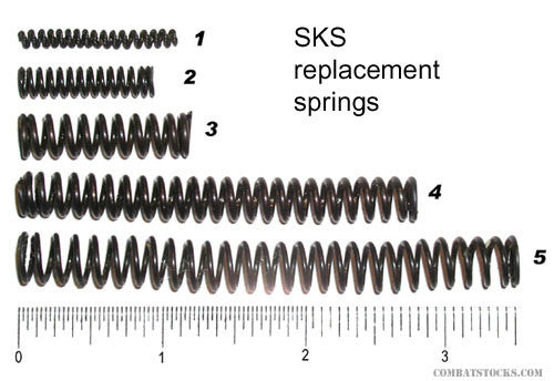 SKS piston return spring