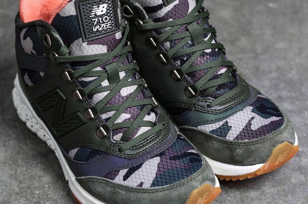 Iridescent and Breathable Hiking Shoes Designed for the Mountain