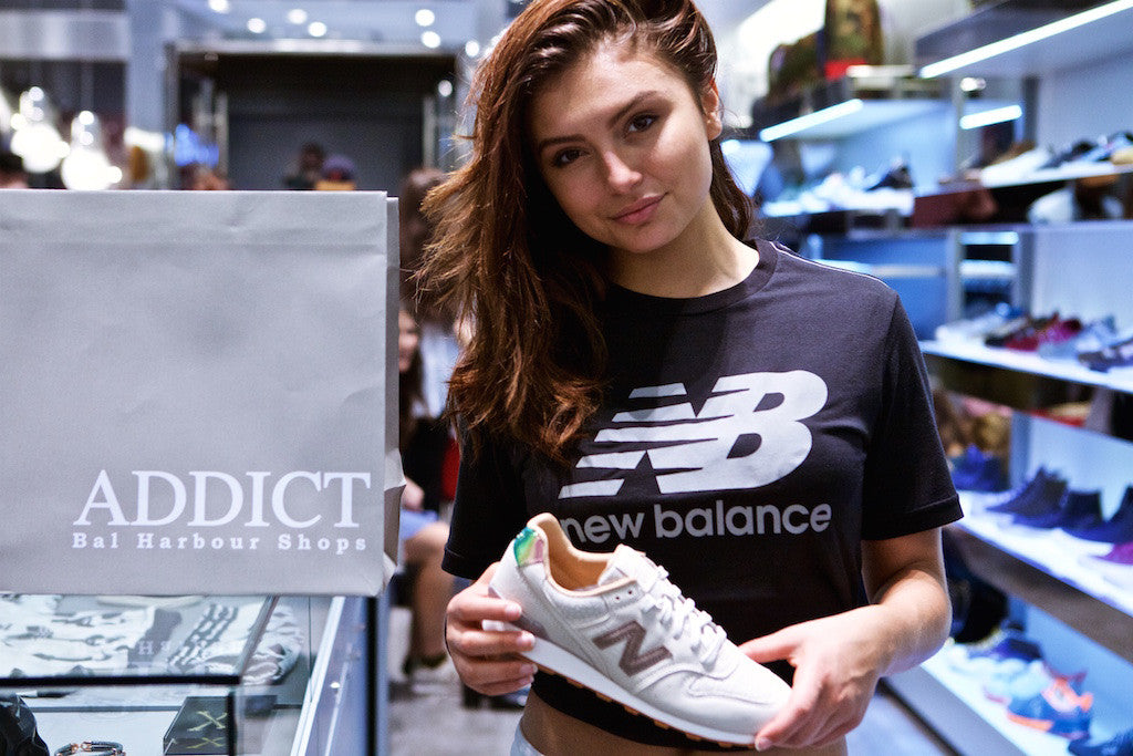 Celebrating the Sneaker Culture at Addict Brickell with New Balance