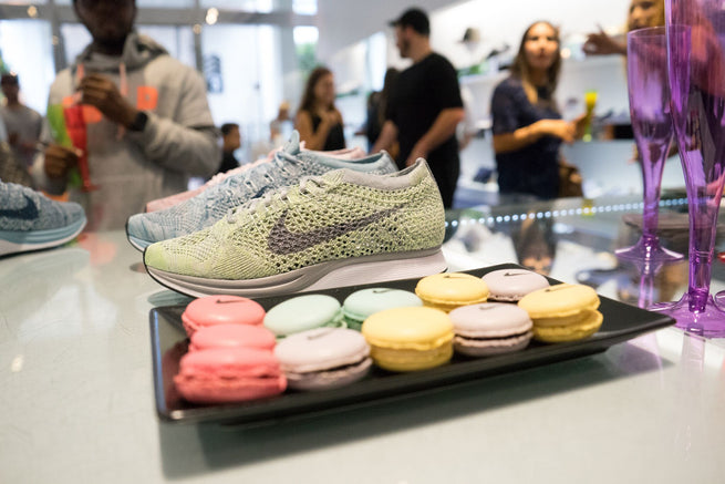 763506eb9 A Recap of our Nike Flyknit Macaron Pack Event at Addict in the Bal Harbour  Shops
