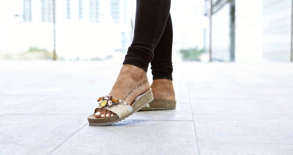 Arden in The ASH Uno Sandals