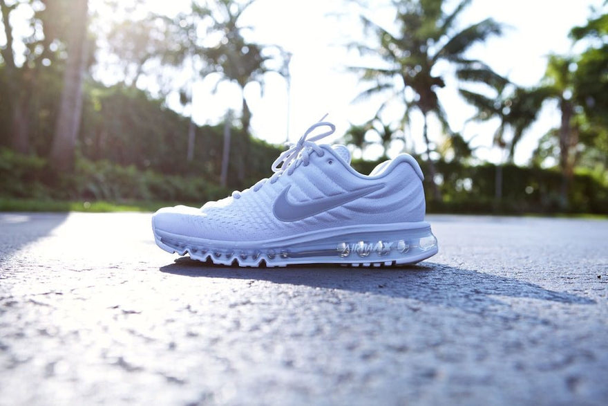 f44709ac8064 Nike Air Max 2017 in Triple White - ADDICT Miami