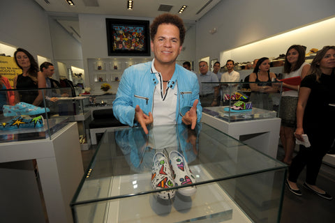 Britto at Addict Miami for Lacoste 80th