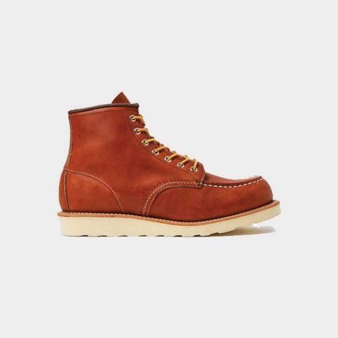 Red Wing 6 Inch Moc Toe Boot Brown Leather 00875