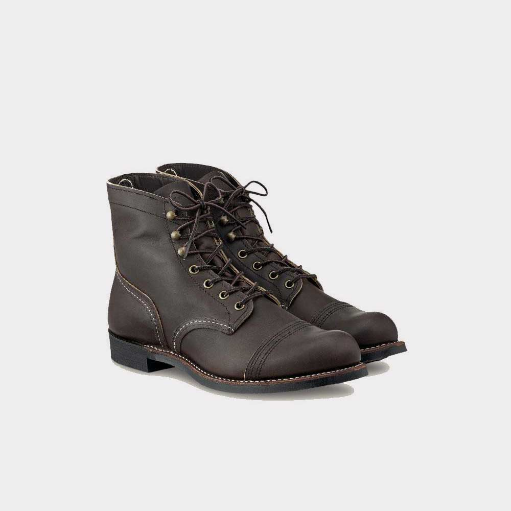 Red Wing Iron Ranger Ebony Harness 04606