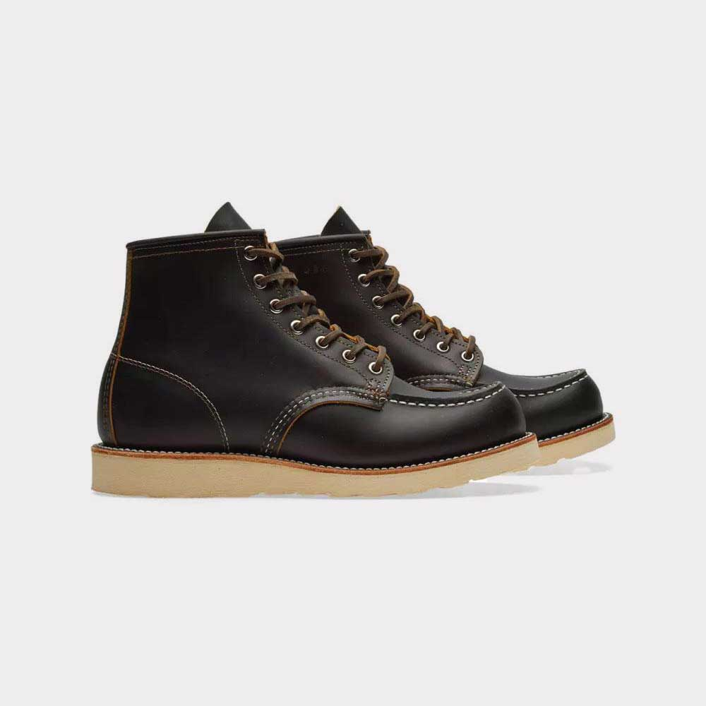 "Red Wing 9874 Rish Setter Moc Toe Boot LIMITED ""BLACK KLONDIKE"""