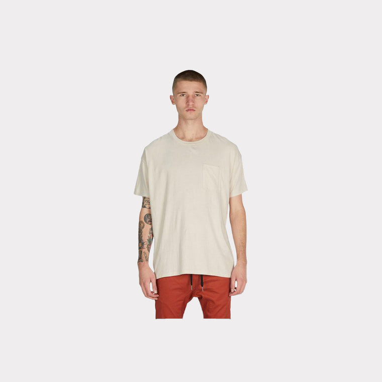 Zanerobe Rugger Pocket Tee Natural 121-LYKM