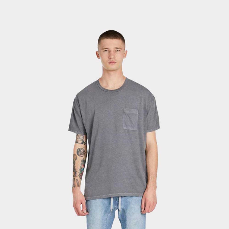 "Zanerobe Rugger Pocket Tee ""Grey"" 123-TDK"