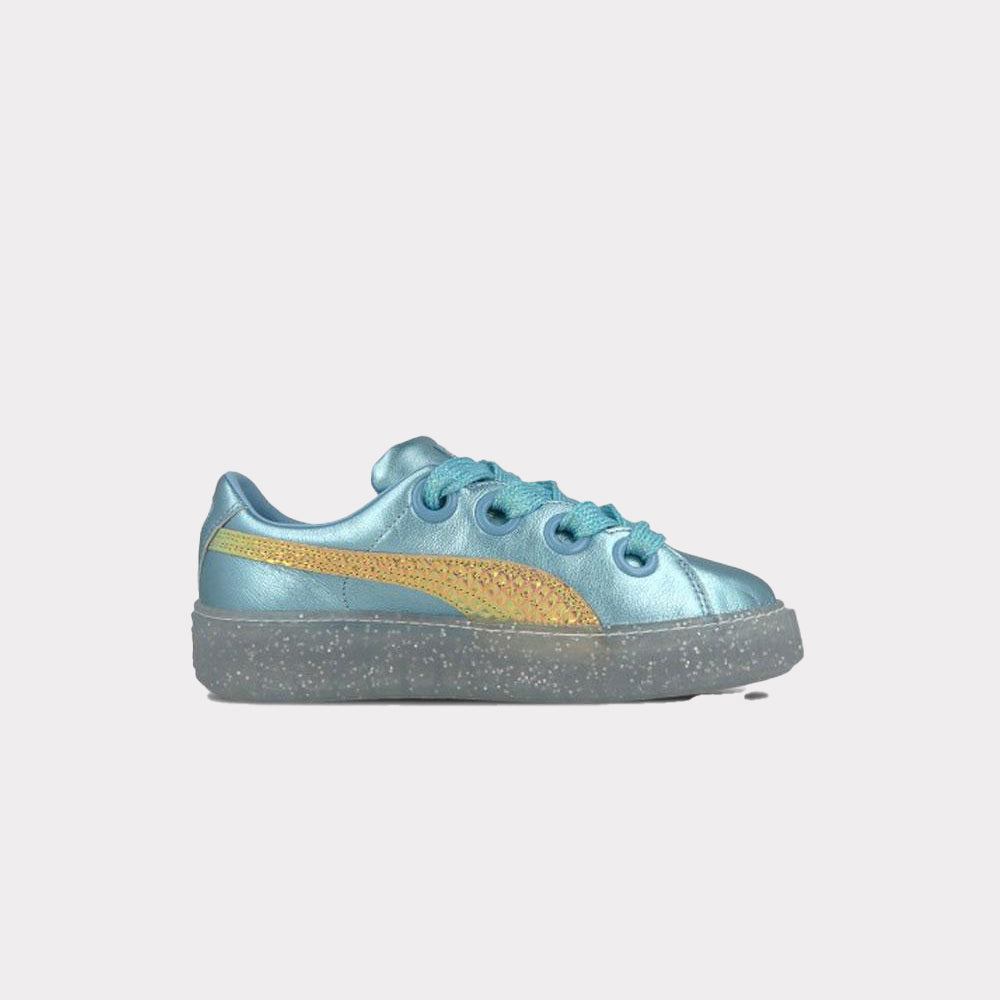 25c807aad8a ... Puma x Sophia Webster Platform Glitter Princess Blue Gold Women 366131  01 ...
