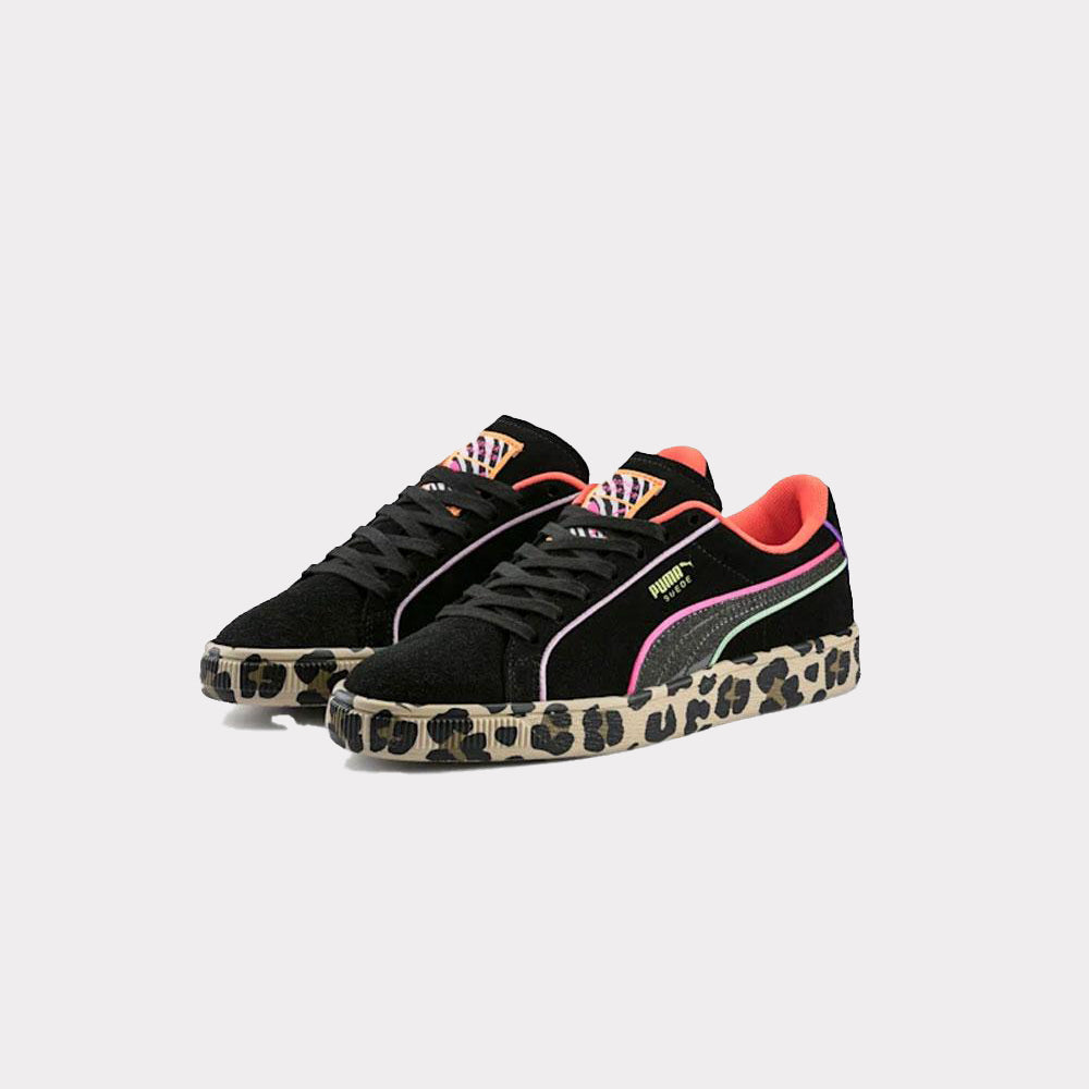 Puma X Sophia Webster Suede Black/Neon Women 370117 01