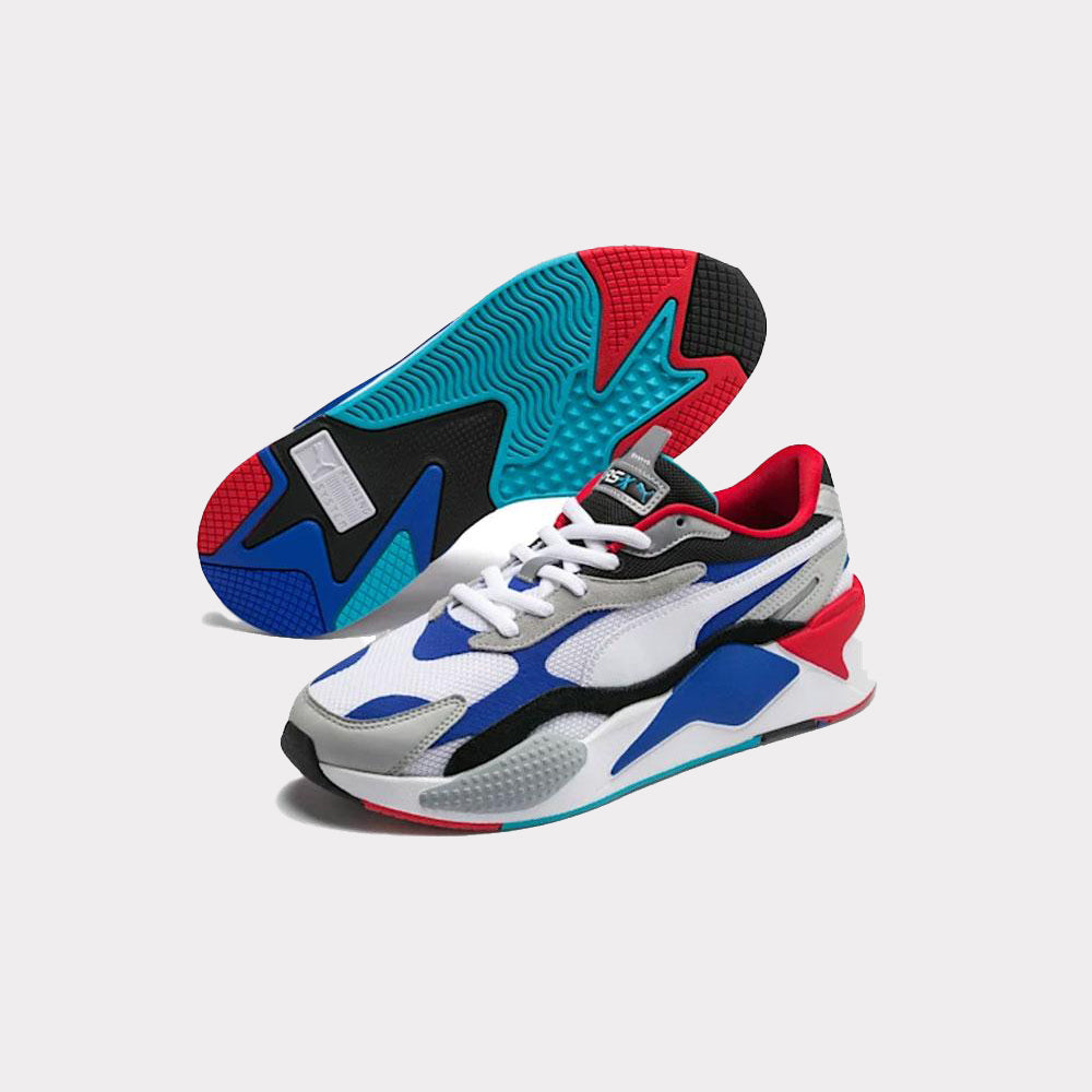 Puma RS-X3 Puzzle Red/Blue/White 371570 05