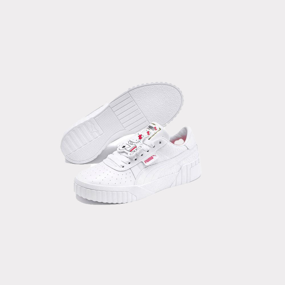 Puma Cali X Hello Kitty White Women 372328 01