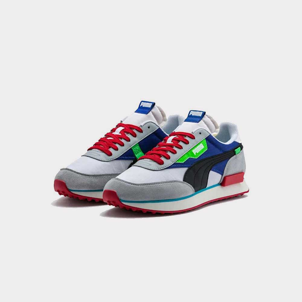 Puma Rider Ride On Red/Dazz Blue 372838 01