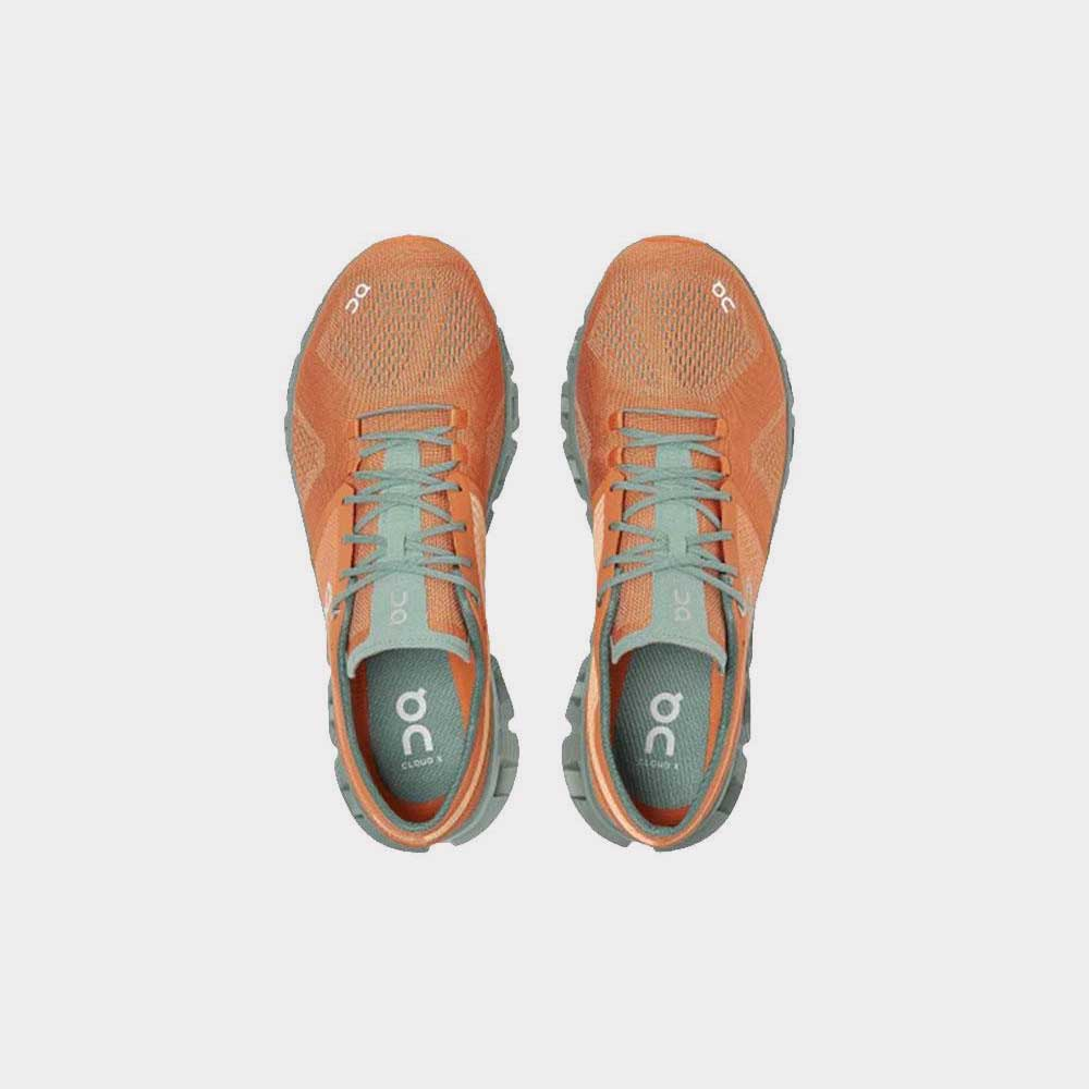 On Shoes Cloud X Orange/Sea 40.99704