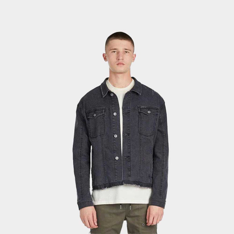 Zanerobe Snitch Denim Jacket Black 501-TDK