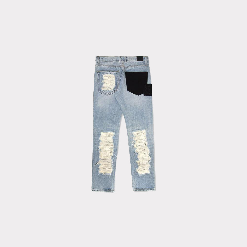 Puma x XO Denim Pants - Blue Indigo  577057-77