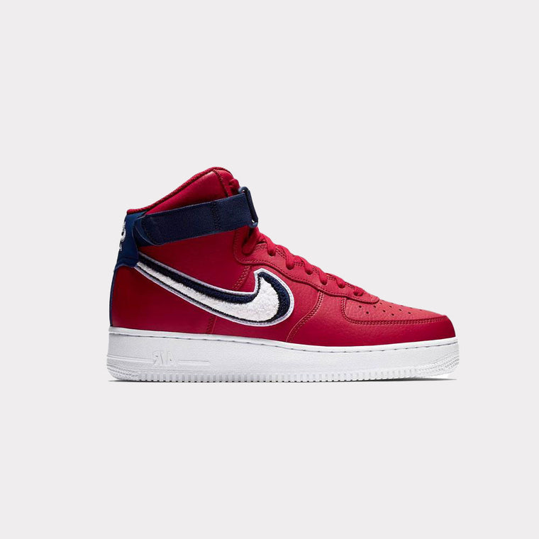 "Nike Air Force 1 High ""3D Swoosh"" Red 806403 603"