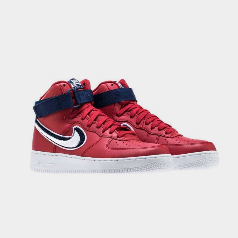 """Nike Air Force 1 High """"3D Swoosh"""" Red 806403 603"""