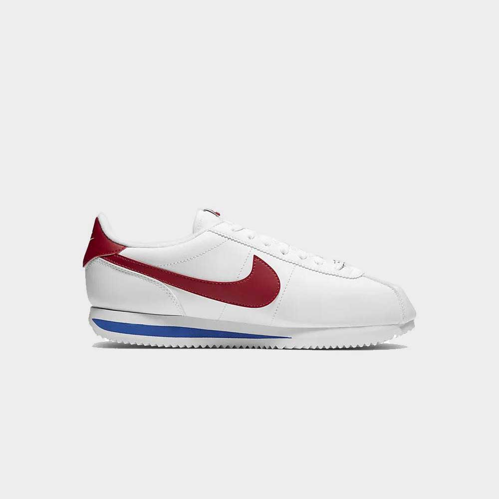 Nike Cortez Basic Leather White/Red/Blue 819719-103