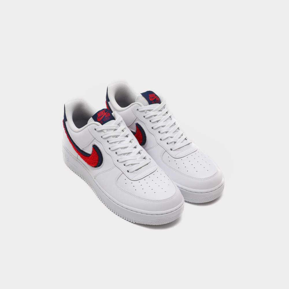 "Nike Air Force 1 Low ""3D Swoosh"" White 823511 106"