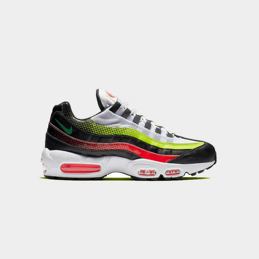 Nike Air Max 95 SE Fuse Volt/ Solar Red AJ2018-004