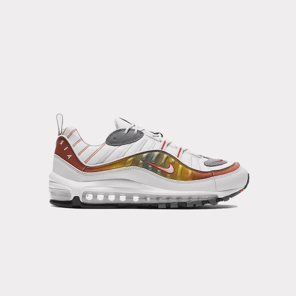 Nike Air Max 98 SE White/Team Orange CD0132-002