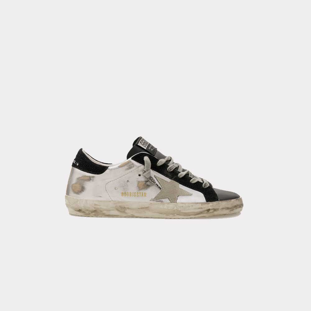 Golden Goose Super Star Laminated Upper Star and Heel GWF00101.F000245.80255
