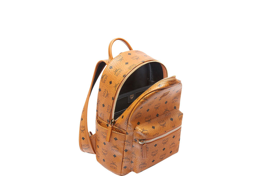 MCM Stark Backpack (Small) Cognac MMK6SVE26CO001