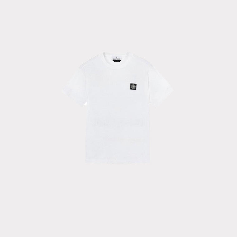 Stone Island T-Shirt Patch Logo White MO721524113-V0001