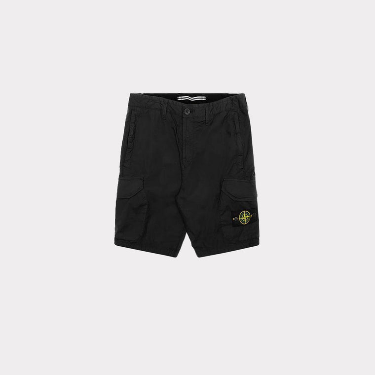 Stone Island Bermuda Regular Short Black MO7215L0403-V0029