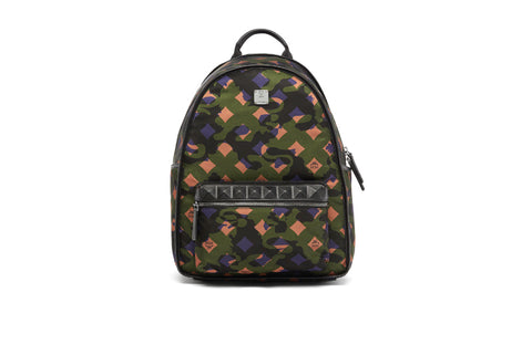"MCM Backpack ""Munich Lion Camo"" (Medium) MUK7ADT01GX001"