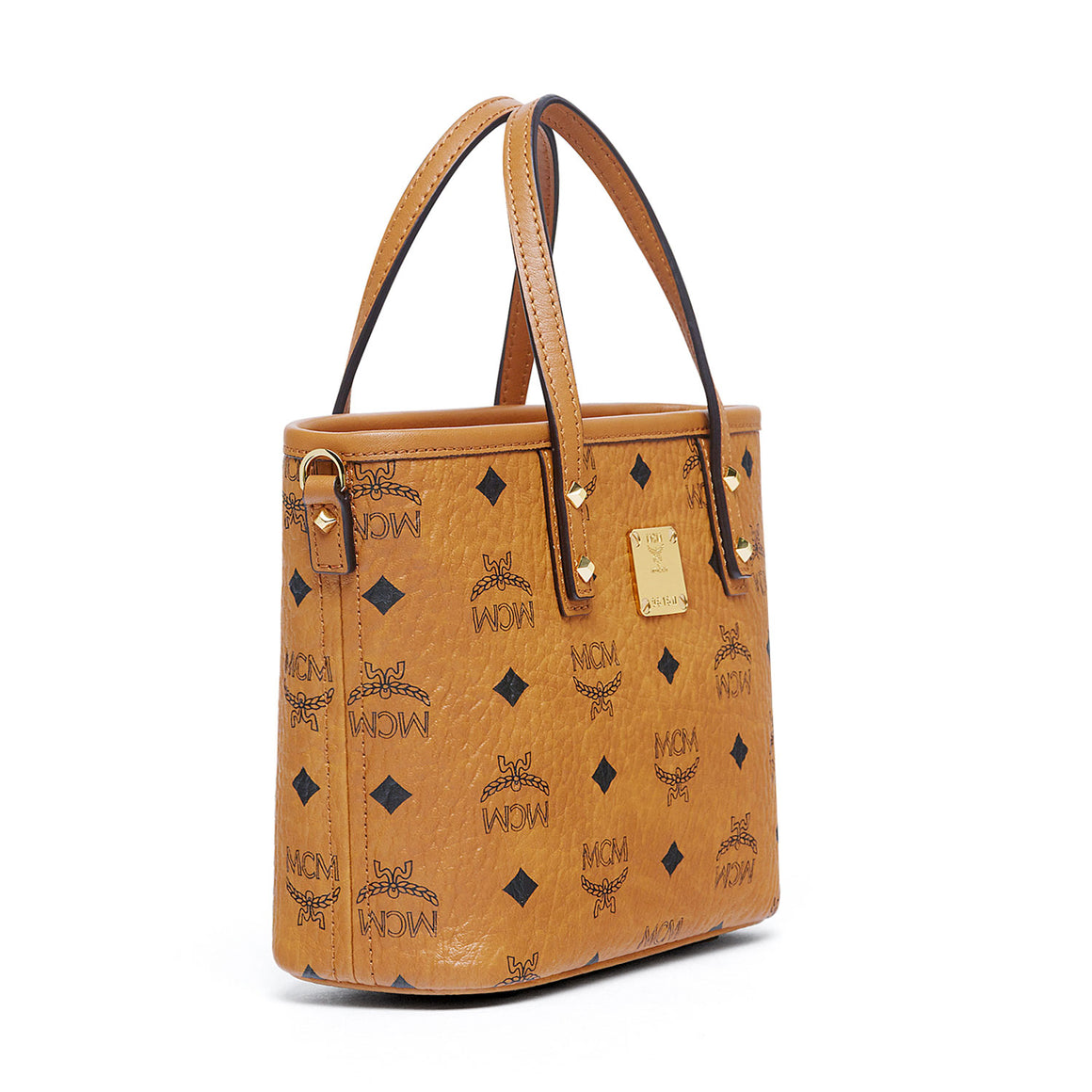 MCM Anya Top Zip Shopper (Mini) Cognac MWP7AVI35CO001