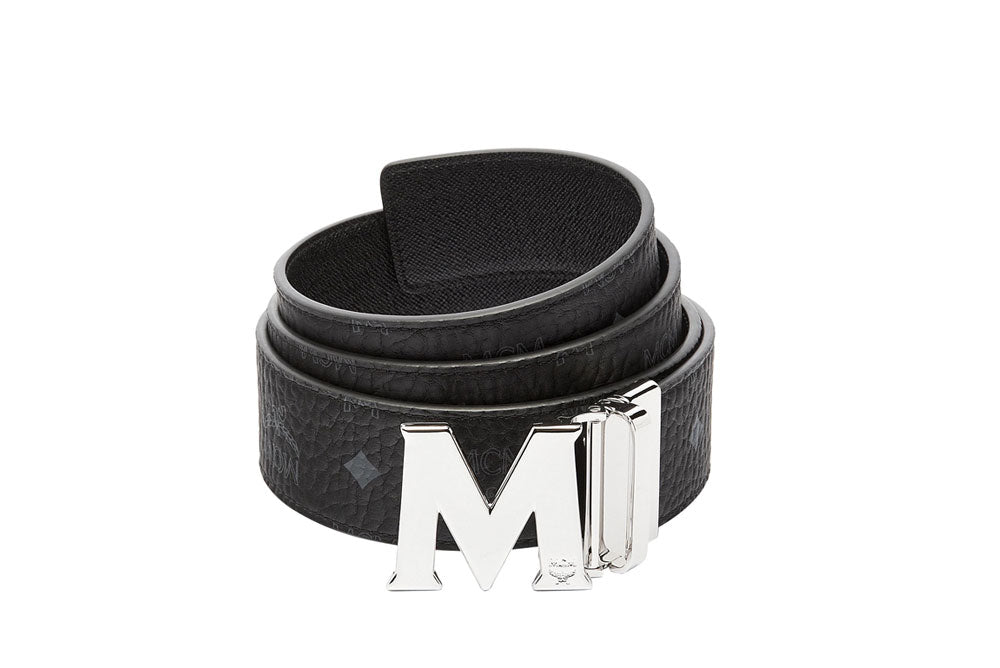 "MCM Reversible 51"" M Belt Black MXB6AVI03BK001"