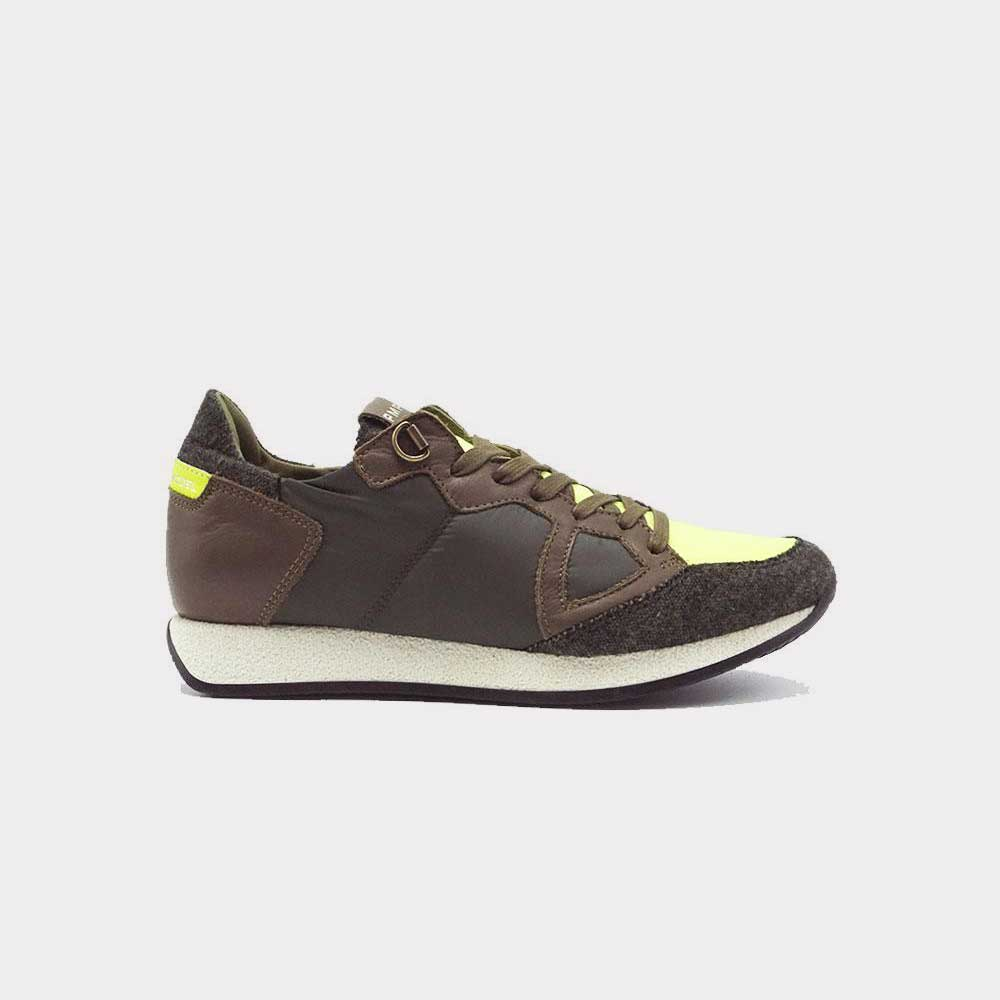 Philippe Model Monaco Trekking Military/Yellow TB13