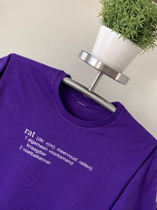 T-Shirt - Rat woordenboek