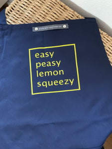 Schort - Easy Peasy Lemon Squeezy