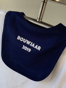 Next big Thing -slabbetje - bib - baby bouwjaar 2019- personalised