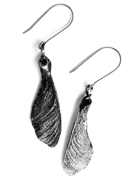 Sycamore Earrings Silver