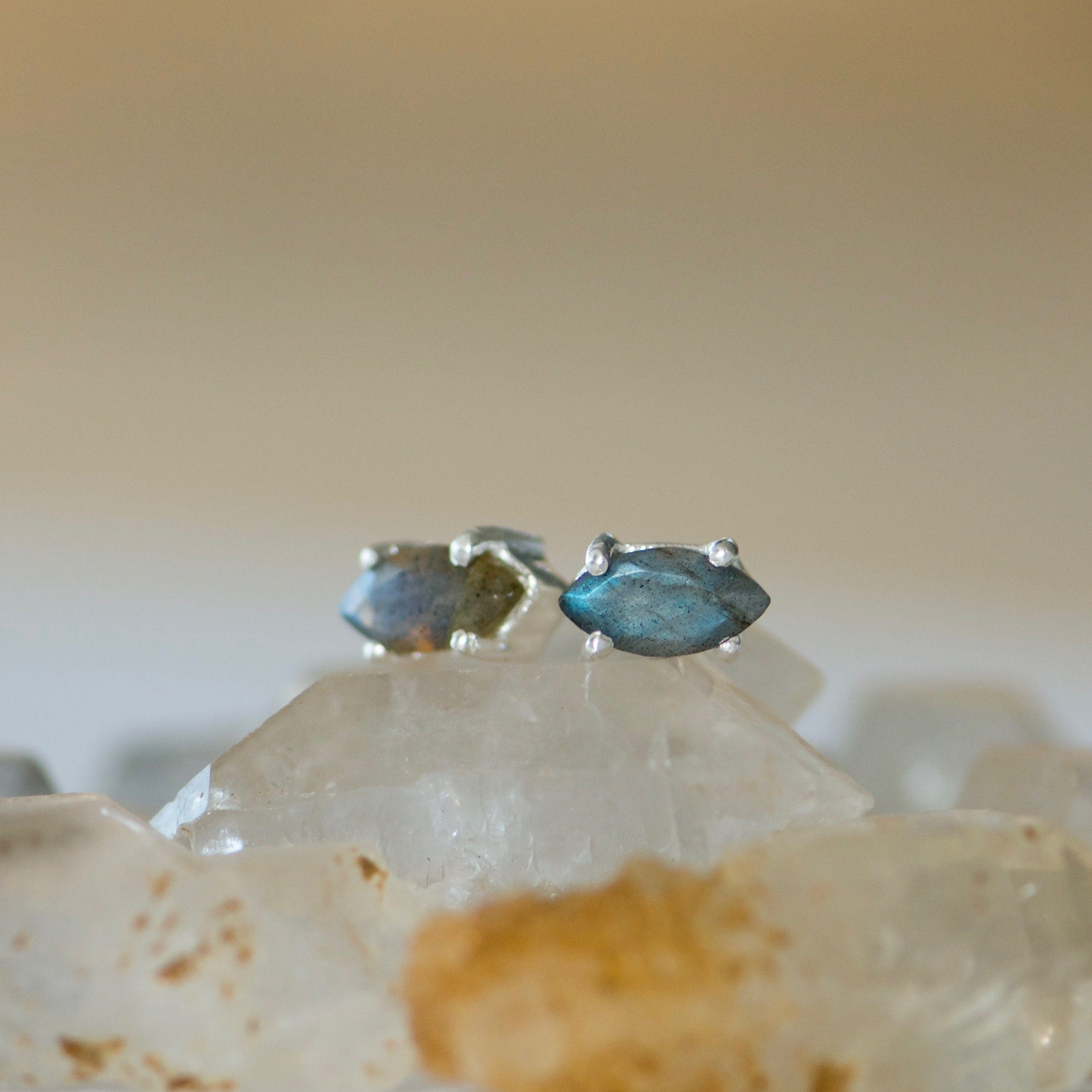 stud faceted marquise earrings listing fullxfull il moonstone