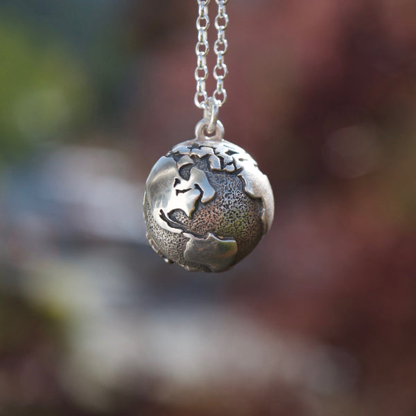 Wanderlust Globe Locket