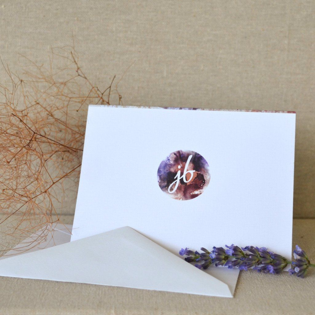 Personalized gift card justine brooks design handmade nature personalized gift card negle Images