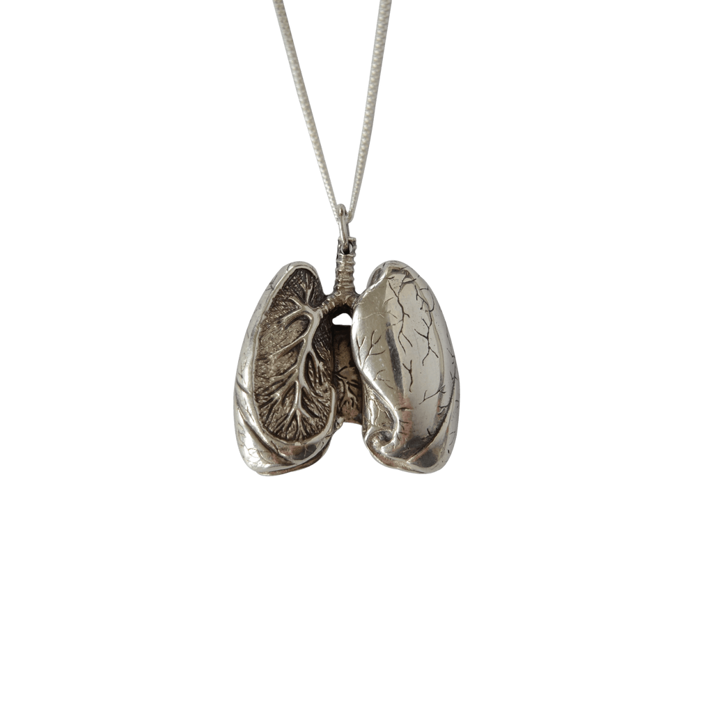 Anatomical Lung Pendant