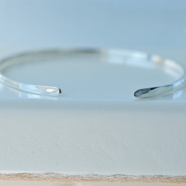 Sterling Silver Adjustable Cuff