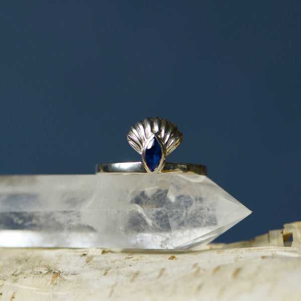 Seashell Ring Silver