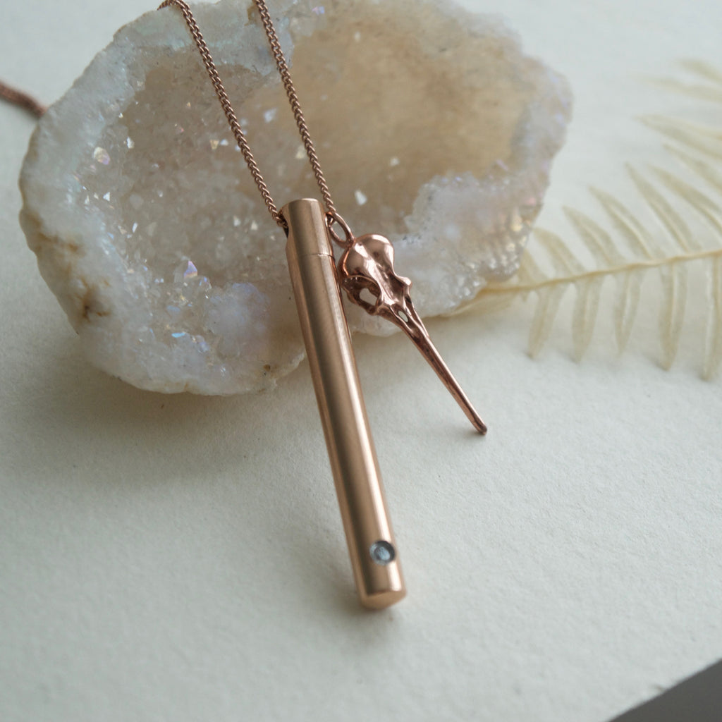 The Urn Necklace Rose Gold