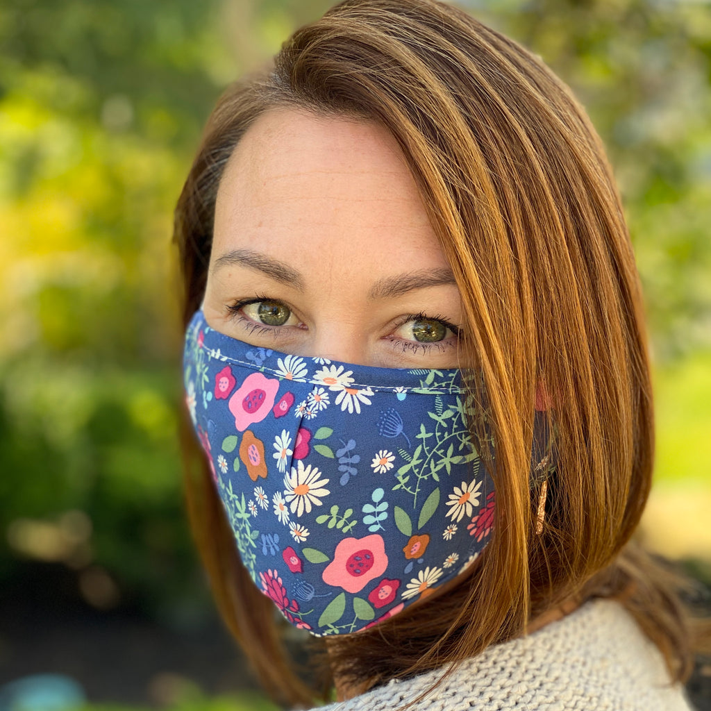 Blue Woodland Breathable Mask - 2 pack