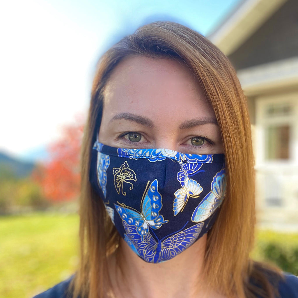 Butterfly Breathable Mask - 2 pack