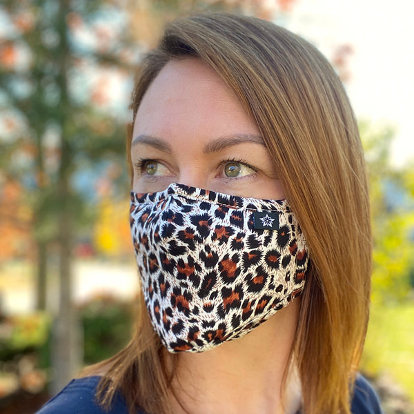 Leopard Face Masks - 2 pack