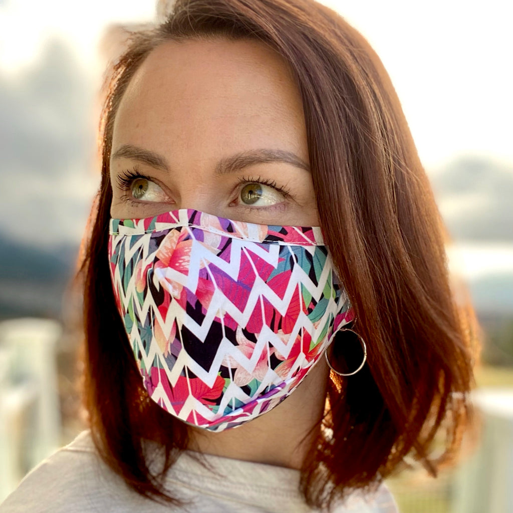 Chevron Breathable Mask - 2 pack